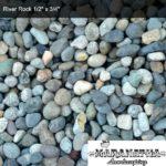 "River Rock 1/2"" x 3/4"" - Maranatha Landscape Bakersfield"