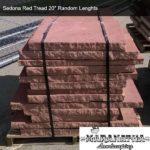 Sedona Red Tread 20 inch Random Lengths - Maranatha Landscape Bakersfield
