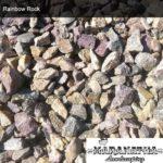 "Rainbow Rock 3"" - 5""- Maranatha Landscape Bakersfield"