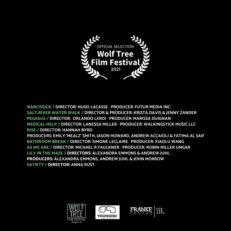 2021 Wolf Tree Official Selections