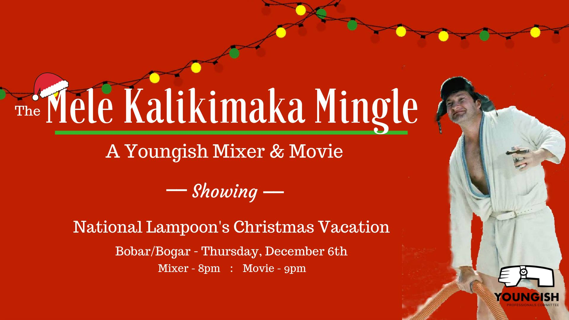 The Mele Kalikimaka Mingle - A Youngish Mixer and Movie