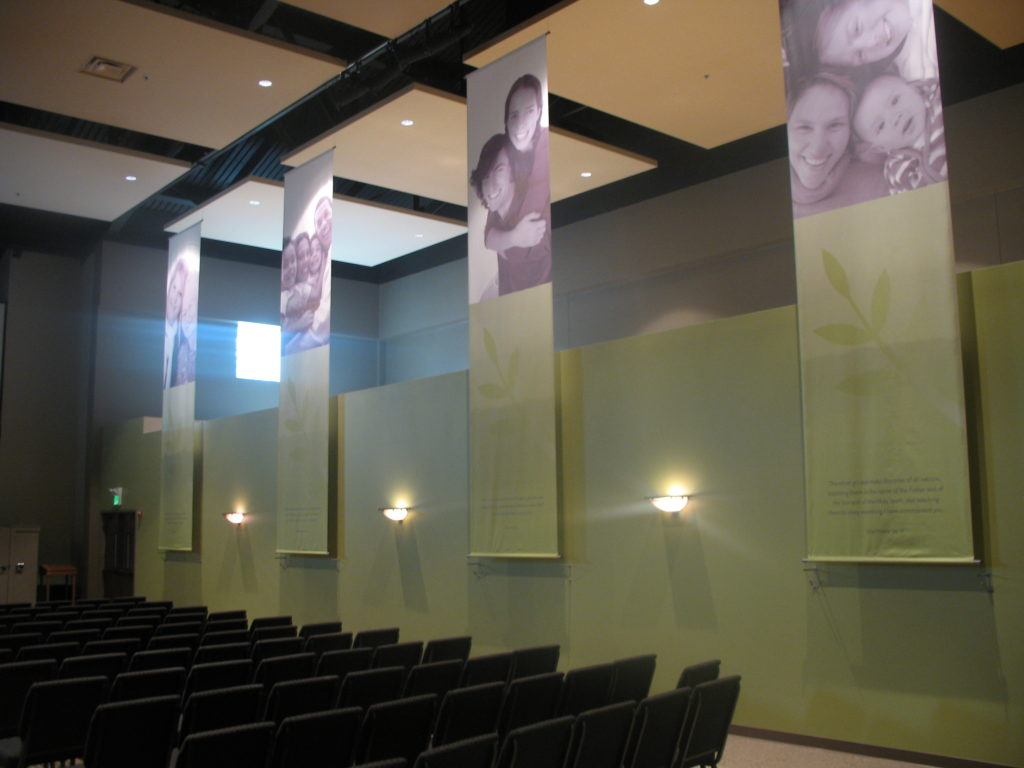Interior Cloth Banners
