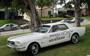 1964 First Generation Ford Mustang Pace Car