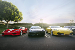 Ferrari 360 Challenge, 458 Italia Spider, and F430