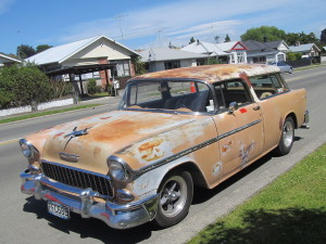 1955 Chevrolet Nomad Rolling Project