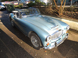 1967 Austin Healey 3000 - The Finish of the Line for the Big Healey