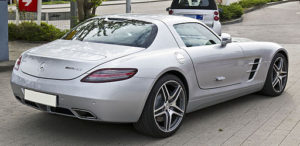 Mercedes SLS Silences the Competition