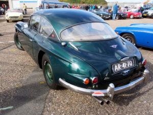 Dark green 1961 Jensen 541S