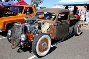 1935 Ford V8 pickup rat rod