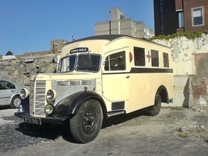 Bedford K Series Ambulance with Stovebolt Six Engine