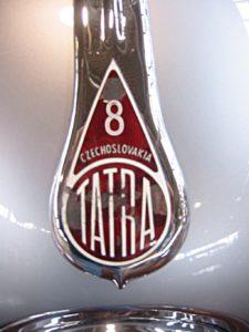 1947 Tatra T87 Saloon Front Nameplate