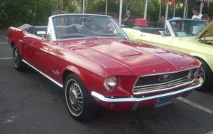 68 Ford Mustang Convertible