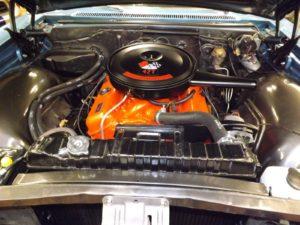 66 Impala Wagon Engine