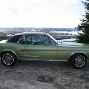 1967 Ford Mustang Coupe Lime Gold
