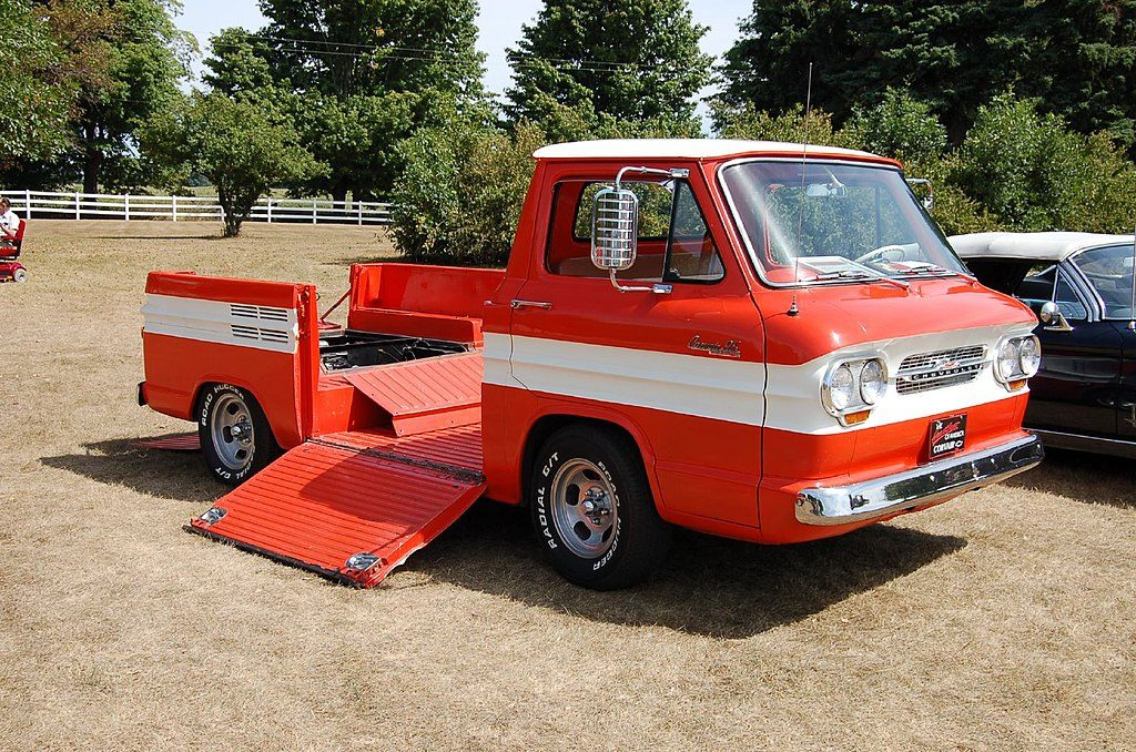 Another example of the 1964 Corvair Rampside
