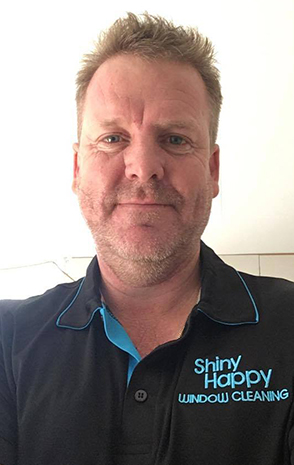 Nick from Shiny Happy Window Cleaning