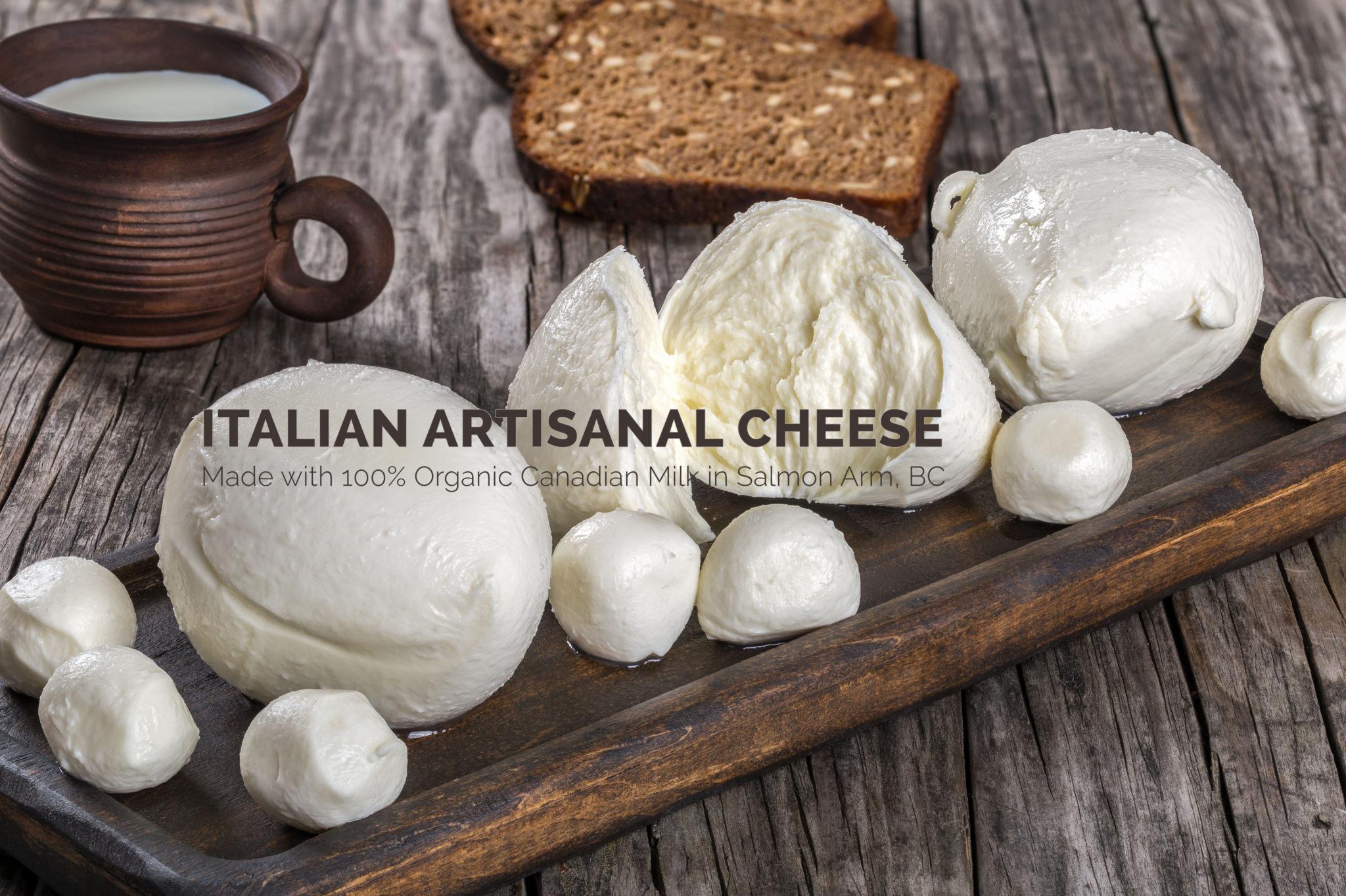 Italian Artisanal Cheese in Salmon Arm