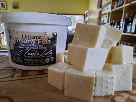 Tanto Latte Organic Feta Cheese