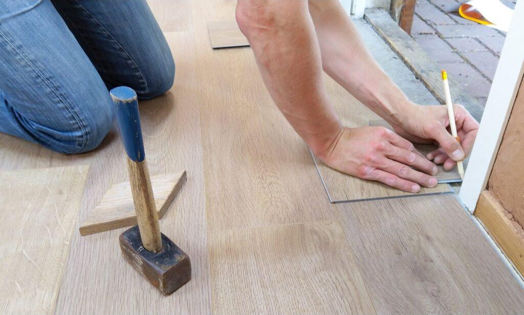 measuring tiles