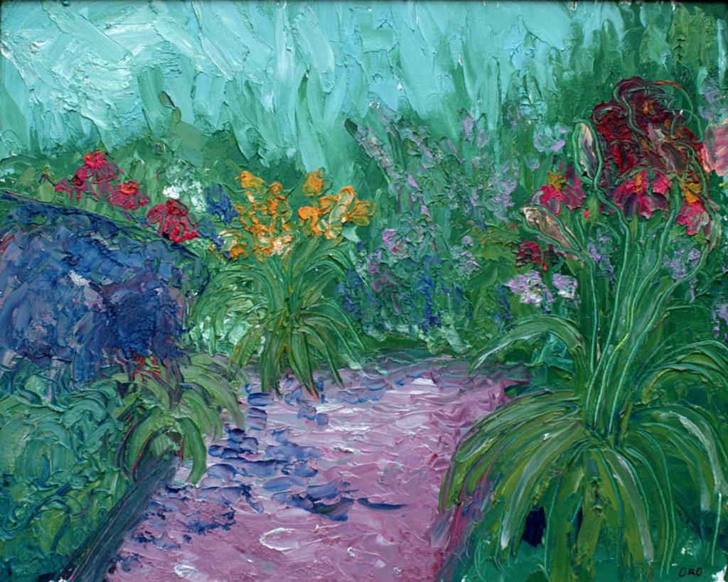 Garden at FCCA by Chris O'Kelley (June-Sept 2017, CBTC)