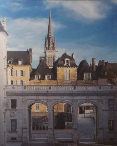 Henri IV's Castle View, Pau, Metallic Photograph, Ltd.Ed. by Deborah D. Herndon, Size 16in x 20in, Frame 24in x 30in. , Price $189 (September 2017)