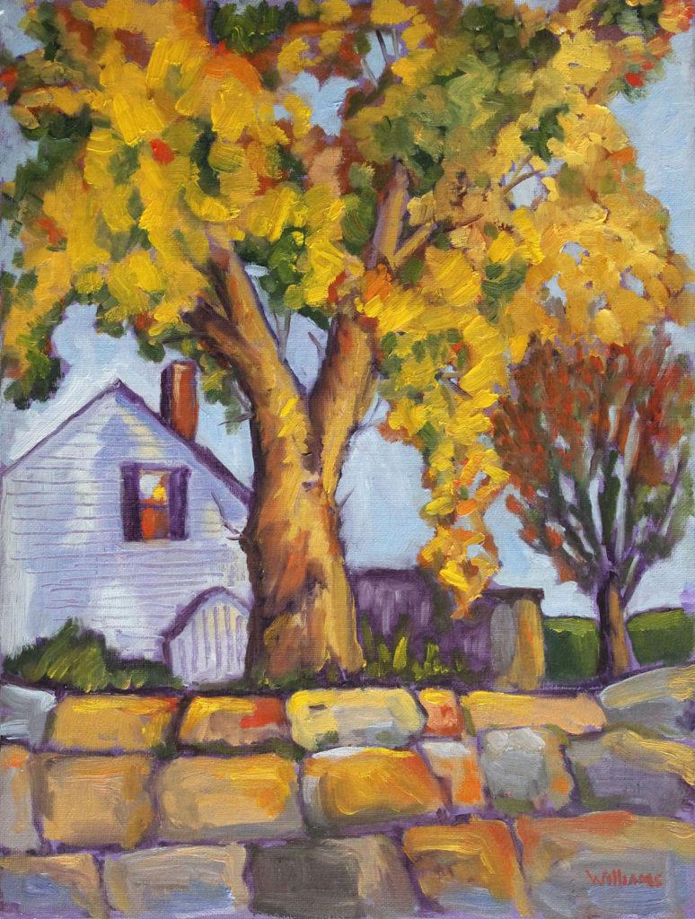 Falmouth Residence by Nancy Williams (CBTC: Oct. 2017-Jan. 2018)