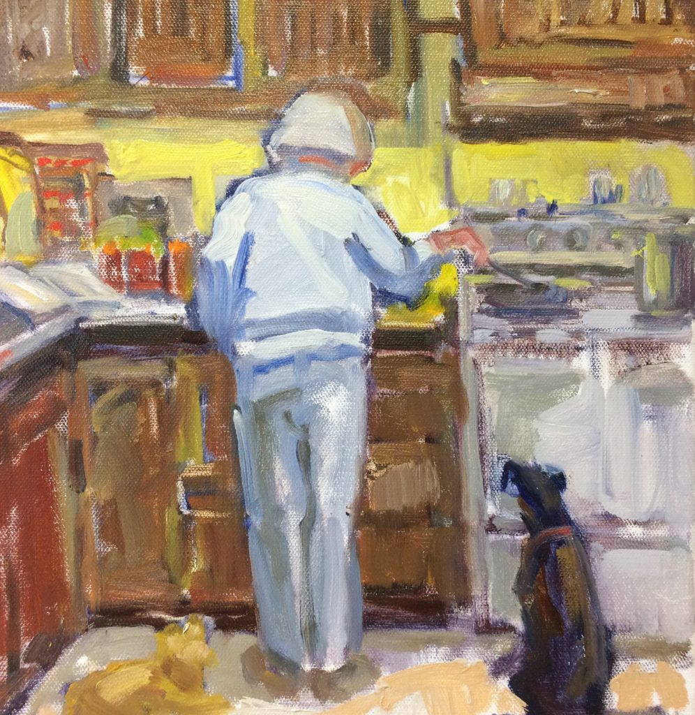 Is that My Supper?, work by Nancy Brittle (MG: March 2018)