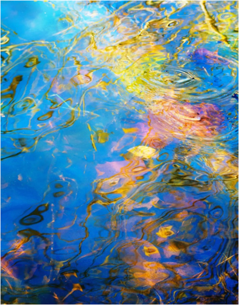 HONORABLE MENTION: Aqua Marble, Photography by Becki Heye, 11in x 14in, $150 (April 2018)