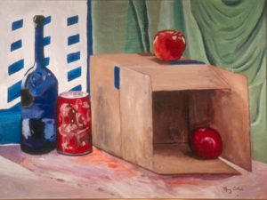 Modern Day Life, OIl by Mary Sokol, 18in x 24in, $150 (April 2018)