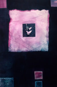 Still, Small Voice, Mixed Media by Barbara Taylor Hall, 23in x 15.5in, $500 (April 2018)
