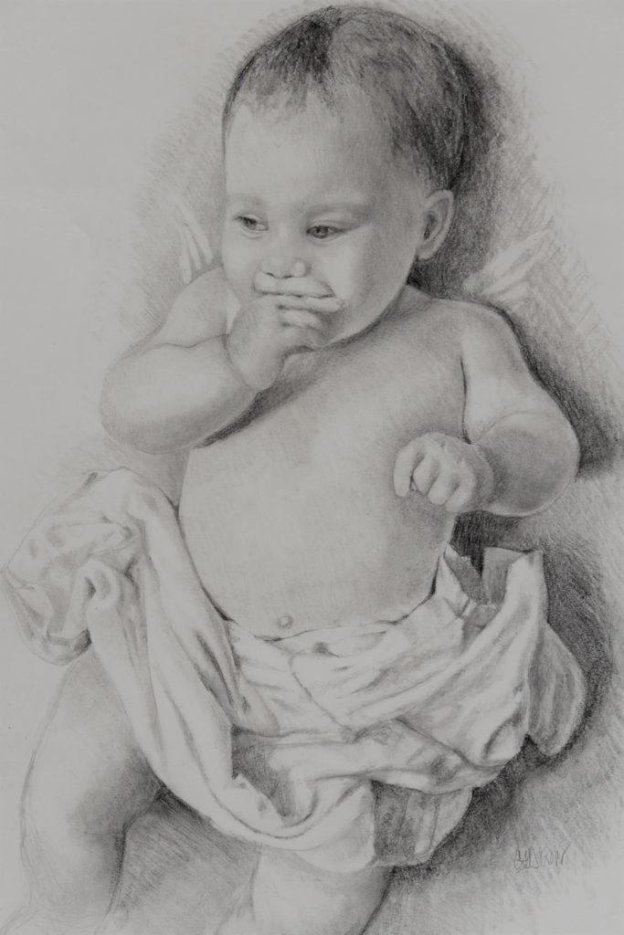 Angel Baby, work by Christine Dixon (MG: June 2018)