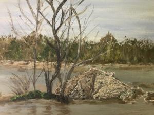 On the River by Kathleen Mullins (CBTC June-Sept 2018)