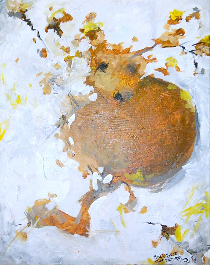 Ball Bear, work by Jeff Saylor (MG: September 2019)