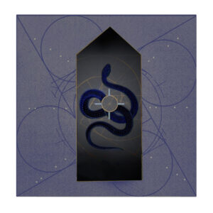 The Infinity Question, Original Digital Print by Robert Hunter, 7.5in x 7.5in, $250 (September 2019)