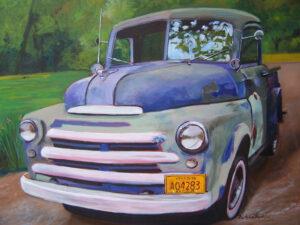 Antique Car by Barbara Byrd (CBTC October 2019)
