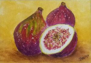 Fresh Figs by Jane Cariker (CBTC October 2019)