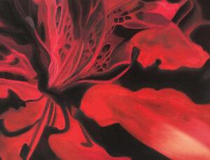 Red Azalea by Victoria McCracken (CBTC October 2019)