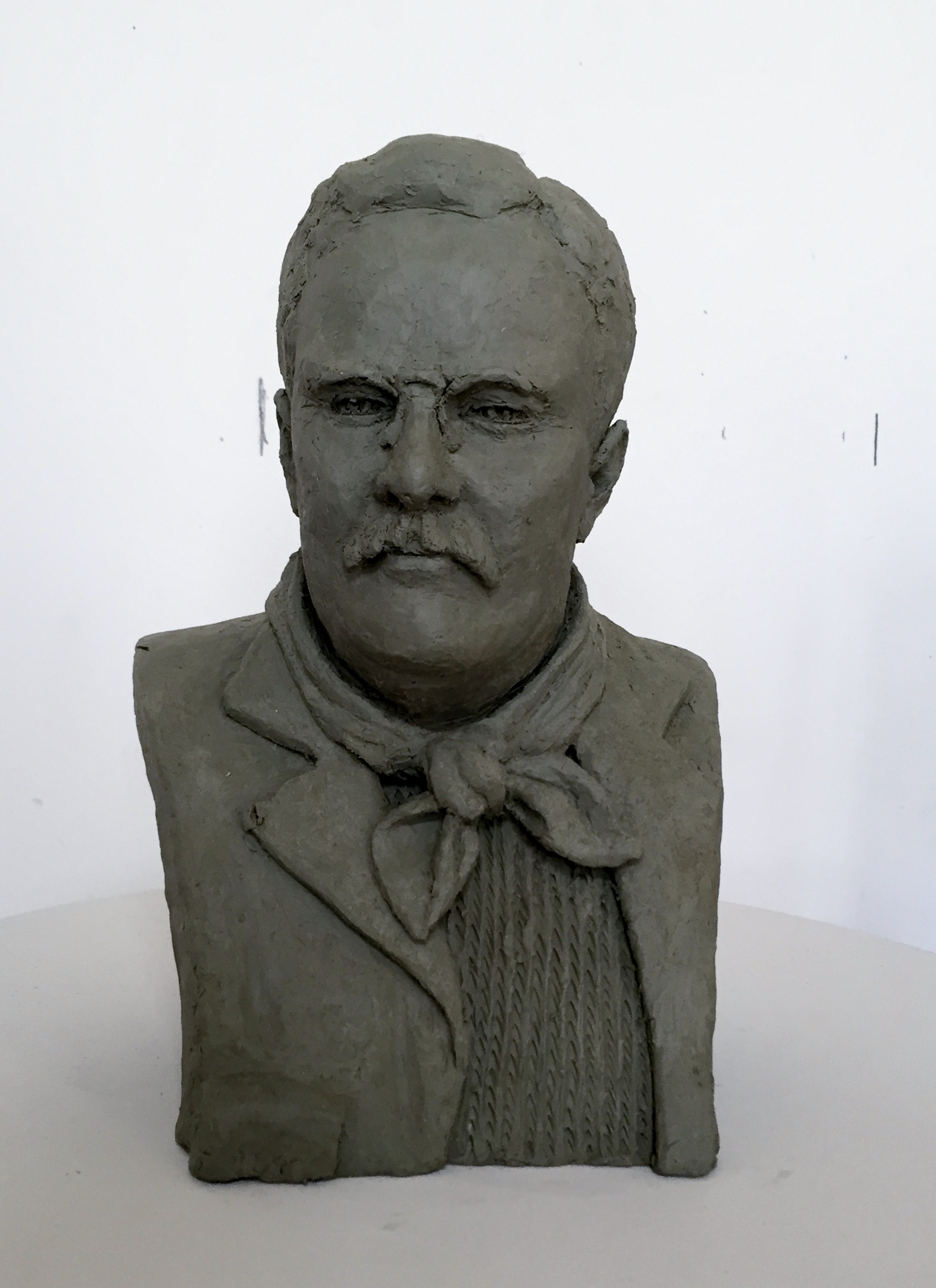 Theodore Roosevelt by Charles Bergen (MG: June 2015)