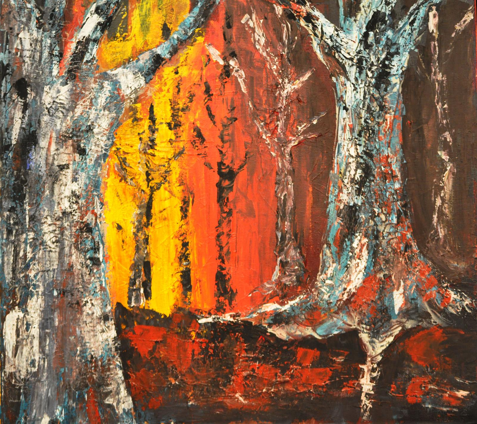 Trees 1 by Carol Baker (MG: April 2014)