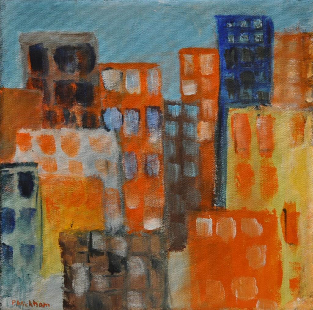 Cityscape by Peggy Wickham (MG: January 2016)