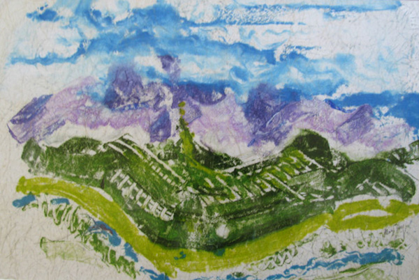 Purple Mountain Majesty by Marilyn Hayes (MG: April 2016)