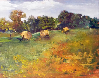 Hay Bales by Nancy Wing (MG: March 2015)