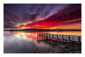 Lake Anna Sunset by Odell Smith (Aug. 2020-Jan. 2021 CBTC)