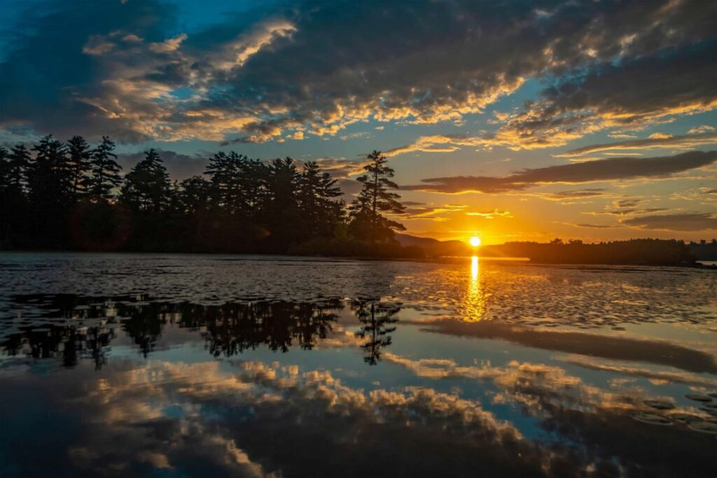 FIRST PLACE: Sunrise, Full Frame by Nicholas Mullet, 20in x 30in, $400 (September 2020)
