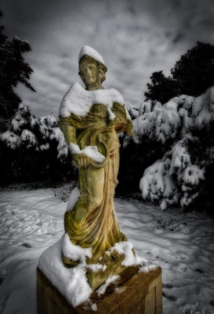 HONORABLE MENTION: Chatham Statue, Photography by Michael Habina, 19in x 13in, $300 (February 2021)