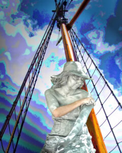 Sail on Silver Girl, Photograph by Kristin Zimet, 16in x 20in, $100 (March 2021)