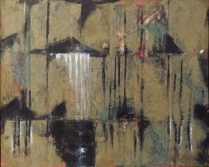 Adrift, Oil & Cold Wax by Bob Worthy, 24in x 30in, $450 (April 2021)