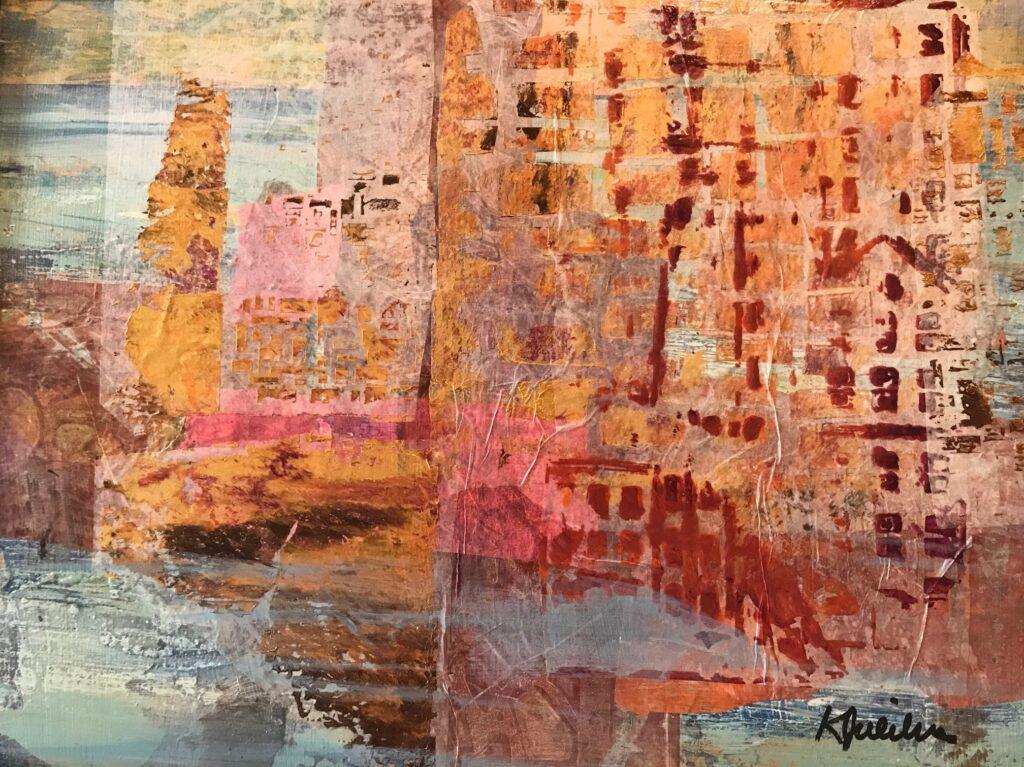 Cityscape, work by Karen Julihn, 11x14, $250 (MG: May 2021)