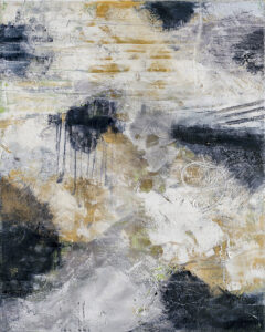Detached Reality II, Acrylic and Mixed Media by Bob Worthy, 20in x 16in, $325 (October 2021)