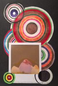 Portholes FTC: Peak 3, Mixed Media by Cathy Herndon, 10in x 12in, $145 (October 2021)